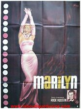 MARILYN MONROE Affiche Cinéma ORIGINALE / Movie Poster 160x120 ROCK HUDSON