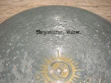 """Morgenblätter Amorette Blechplatte 30,5cm Drehorgel antik music box 11 3/4"""" disc"""