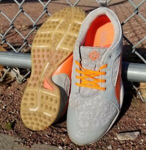 PUMA Ladies BioFly Mesh Spikeless Golf Shoes 18867304 Womens Sz 9.5 Gray White