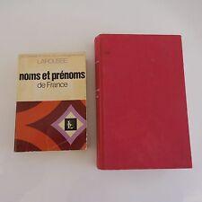 Noms et prénoms en France 1982 La vraie vie des prénoms 1986