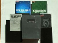 Playstation 2 PS2 Metal Gear Solid Collection 20th anniversary Japan JP Games