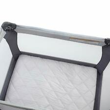 Carter's Quilted Playard Sheet, Solid GREY GRAY  One Size PLAY YARD