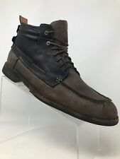 Timberland Earth Keepers Originals Leather Black Brown Ankle Boots 73173 Men 10