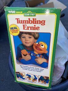 "New In Original Box Sesame Street TUMBLING ERNIE 12"" Tyco Unused"