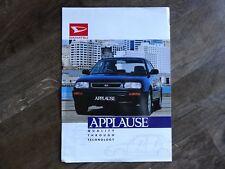 Daihatsu Applause Executive Xi Sports Brochure - 1994