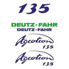 Deutz-Fahr Agrotron 135 tractor decal aufkleber sticker set