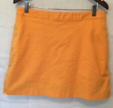 Adidas Stretch Skirt Skort - Women's 12 - Orange Golf Tennis Skort
