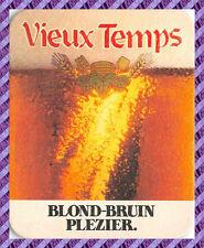 Sous Bock - VIEUX TEMPS - Bière - Beer