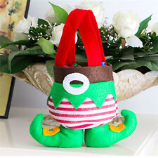Christmas Stocking Candy Sock Gift Bag Filler Decoration Gift Claus Ornaments