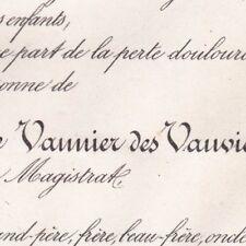 Eugène Le Vannier Des Vauviers Magistrat Rennes 1886