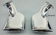 JP Tubo de Escape Parabrisas escape indicado para Porsche 996 97-01, acero inox.