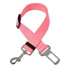 1 Pink Dog Car Safety Belt Adjustable Safety Restraint Travel Harness Collars