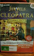 Jewels of Cleopatra - Double Pack 1 & 2 PC GAME - FREE POST *