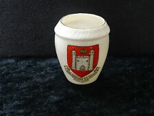 Goss China Model of the Penmaenmawr Urn with Doncaster Crest.