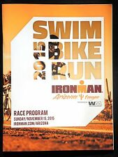 Official Ironman ArizonaTriathlon Race Program 2015
