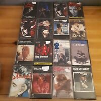 Huge Rod Stewart Cassette Album Job Lot Bundle