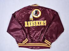 Large Vintage Washington Redskins années 90 Veste Aviateur