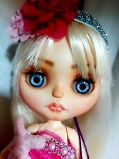 Ooak Custom Neo Blythe Doll - With Dress/Accessories