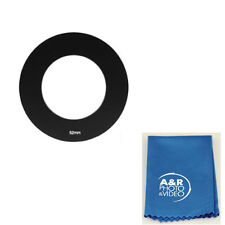 52MM Adapter Ring for Cokin P Series Filter Holder + MagicFiber Cleaning cloth