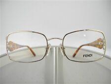 8887f1b4b3c  336 FENDI WOMEN S AUTHENTIC GOLD EYEGLASSES FRAME GLASSES F 872 715