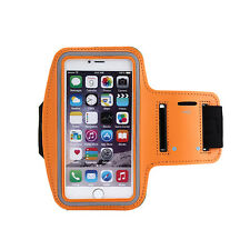 Sports Running Yoga Gym Armband Arm Band Case Cover Holder for Mobile PHONES D4w Orange