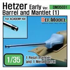 Hetzer Early type Barrel Mantlet set 1 (for Academy 1/35) upgrade set