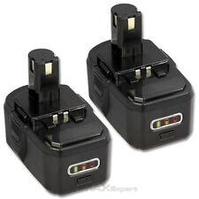 2 x 3.0AH 18V 18 VOLT Lithium-Ion Battery for Ryobi P105 One+ P104 Cordless Tool