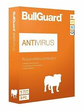 BullGuard Antivirus Protection 2020 - 12 Months - 1 User - for All Windows PC's/