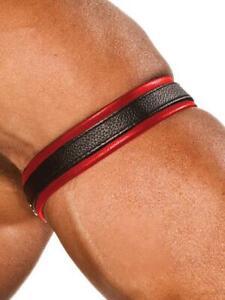 Colt Fascia Pelle per Bicipide Colore RossoUomo Cuoio Pelle Leather Strap
