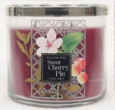 1 Bath & Body Works Sweet Cherry Pie 3-Wick Candle 14.5 oz