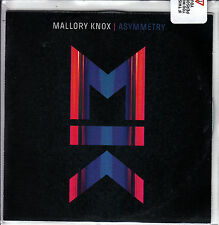 MALLORY KNOX Asymmetry: Deluxe Version 2014 UK 14-track promo test CD SEALED