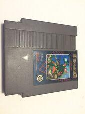 """Commando """"5 Screw"""" (Nintendo NES) Capcom Game Cartridge"""