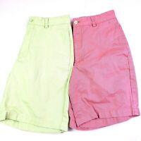 Lot of 2 Vineyard Vines Mens Size 28 Shorts Green/Pink Club Short Ian & Shep