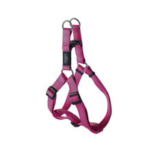 Rogz Utility Bright Reflective Durable Step-In Dog Harness, Pink