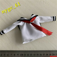 1/6 Female Student Long Sleeve School Uniform Clothes fit 12'' Phicen JO Figure