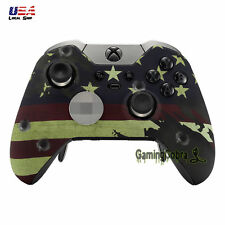 US Flag Front Shell Faceplates Cover Repair Parts for Xbox One Elite Controller