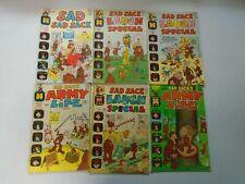 Silver Age Giant Size Sad Sack lot 6 different avg 4.0 VG (Harvey Comics)