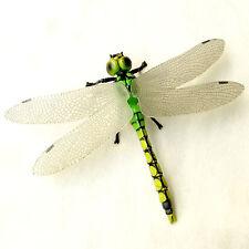 Dragonfly Lifelike Realistic Fairy Garden Terrarium Figurine Decor Insect Toy n3