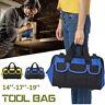 14''-19'' Portable Zipper Tool Bag Heavy Duty Storage Pouch Organizer Wide Mouth
