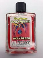 SPIRITUAL MYSTICAL PERFUME 1 FL OZ FOR HOLY DEATH (SANTA MUERTE)