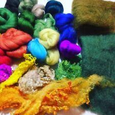 Needle Felting Starter Kit, Assorted Wools, Needles, Ideal For Beginners
