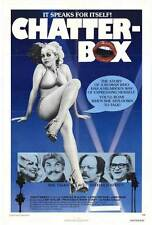 CHATTER BOX Movie POSTER 27x40 Candice Rialson Larry Gelman Jane Kean Rip Taylor