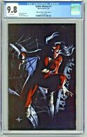 Spider-Woman #1 CGC 9.8 Unknown Comics Virgin Edition Dell'Otto Cover Variant