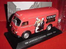 FOURGON OM LEONCINO  CACAO VENCHI 1954 1/43 IXO EN BOITE