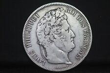 5 Francs LOUIS PHILIPPE ,téte laurée;1832W((Lille)/LC009