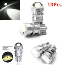 10pc White SMD T10 W5W 3535 LED Bulbs Car Interior Light Wedge Side Parking Lamp