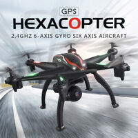 GPS 120° Wide-angle 1080P HD Camera 5G WIFI FPV RC Quadcopter Drone  Follow Me