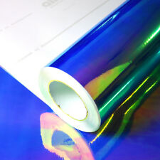 Allvi Car Wrapping Film Rainbow Chrom Blue | Blau Auto Folie - 30,70€/m²