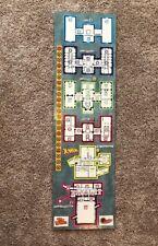 X-Men Under Siege Board Game Replacement Part GAME BOARD Pressman 1994