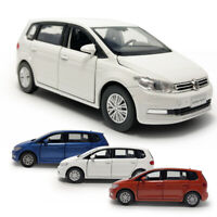 1:32 All New Touran L MPV Die Cast Modellauto Spielzeugauto Pull Back Kinder